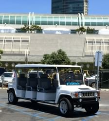 ACG Hummer Limo at Comic Con, San Diego.