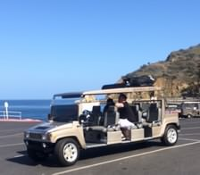 ACG Hummer Limo on Catalina Island