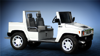 ACG Hummer Golf Car