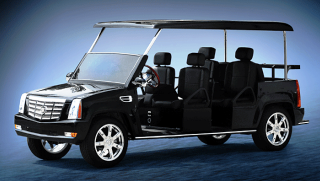ACG Escalade Limo Golf Cart