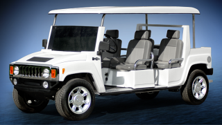 ACG Hummer Limo Golf Car